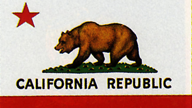 California bear flag