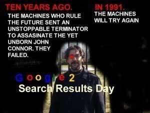 Terminator movie poster spoof