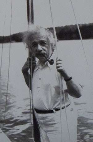 Albert Einstein Sailing