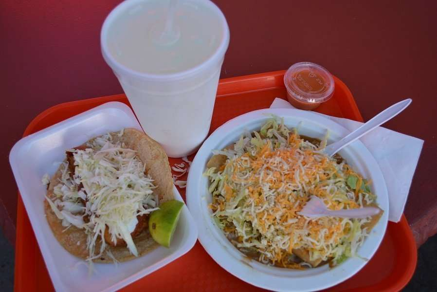 Fish Tacos are considered a topic of much debate and discussion in the area with many different varieties, and a mandate to natives to try out as many as you can.