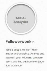 A link to the Moz followerwonk program.