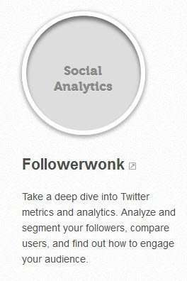 A link to the Moz followerwonk program.