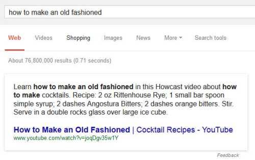 Google old fashioned