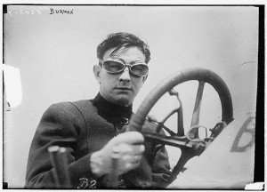 Early race car driver Bob Berman, who raced in the first Indy 500 in 1911.