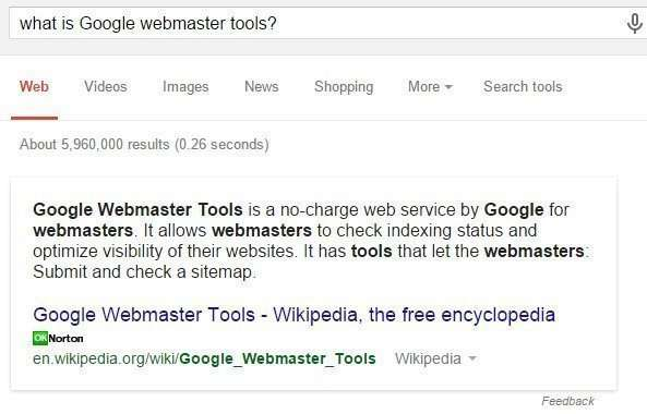 Many of the tools pages and help pages from Google are in direct answers about them, with links to more information about them