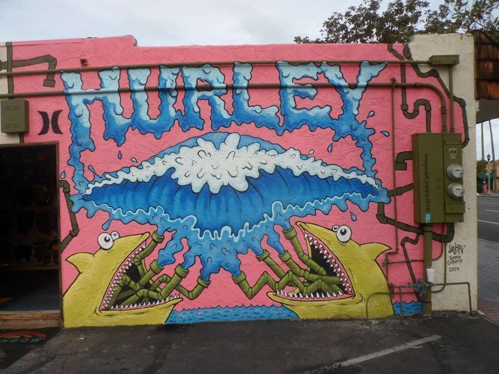 There are a lot of fun murals and places to explore in Carlsbad.