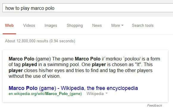 How to Play Marco Polo Results