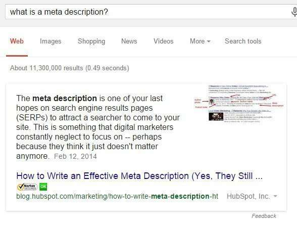 Doing an SEO Audit for a site, it's important to know good practices for different HTML elements of a page, like Meta descriptions.
