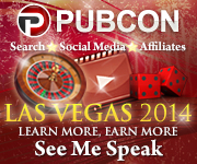 I am speaking at the Pubcon Las Vegas 2014 Conference