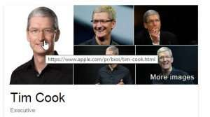 Knowledge Panel Image for Tim Cook.