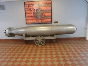 Torpedo as Aft, in the Torpedo Factory in Alexandria