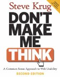Don't Make Me Think, by Steve Krug