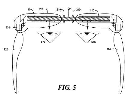 This picture from the patent shows a 2 lens version.