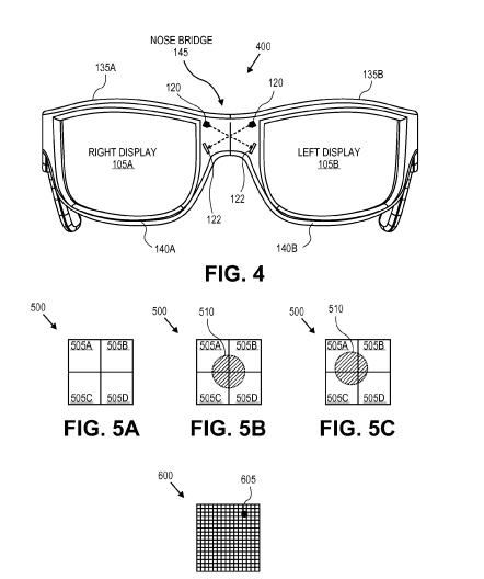 A look at how 2 lens glasses might be calibrated from the patent.