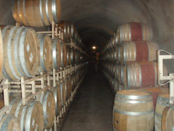 More than half a mile of cavern filled with wine casks