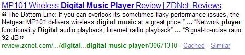 Review of a Digital Music Player covering different features of the player