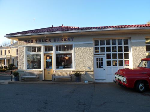 The Red Truck Bakery in Warrenton, Virginia