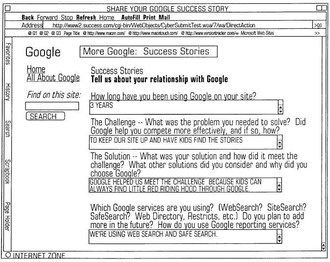 More details in the Google success story data collection.