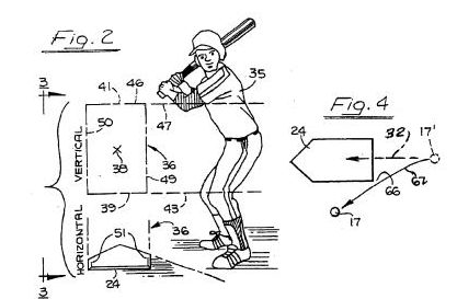 an automated system for judging balls and strikes over home plate.
