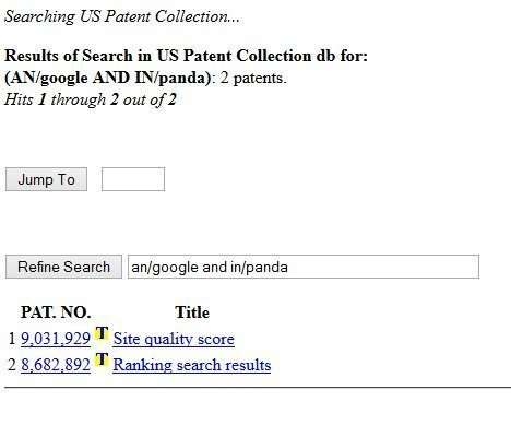 Why does it only show 2 patents?