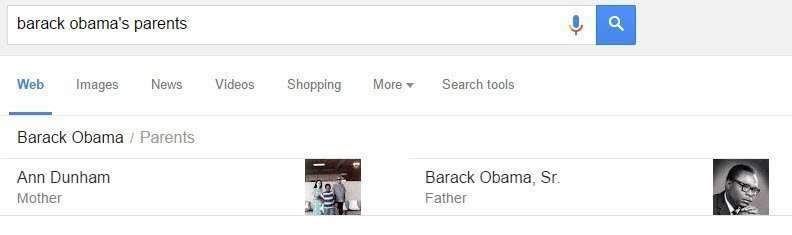barack obamas parents
