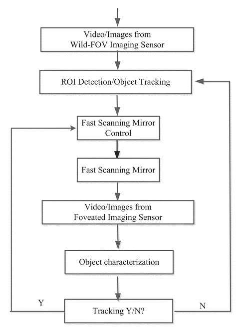 Flow Chart from the patent application about ther imaging process