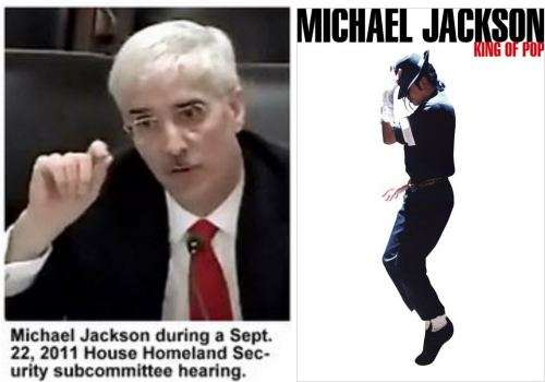 Two different michael jacksons