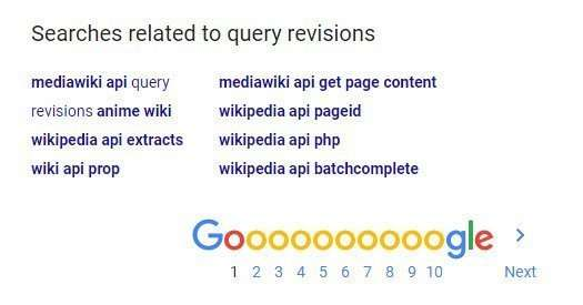 Looking at Final Landing Pages for Suggestions for Query Revisions