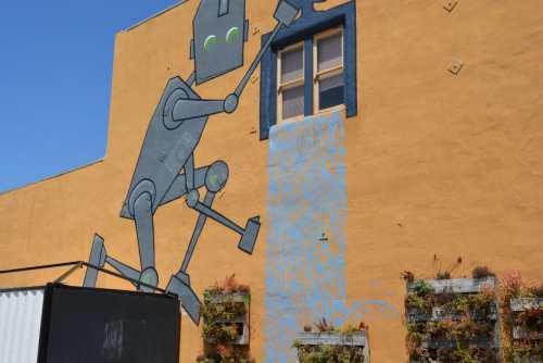 A mural in Carlsbad, Ca.