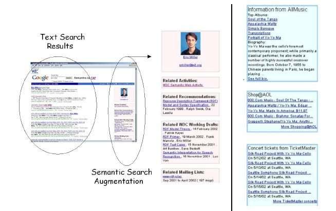 semantic web early knowledge panel