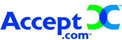 logo for Accept.com