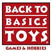 logo for Back to Basics Toys