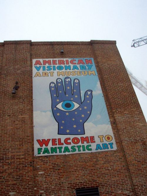 The American Visionary Art Museum, near the Baltimore Inner Harbor.