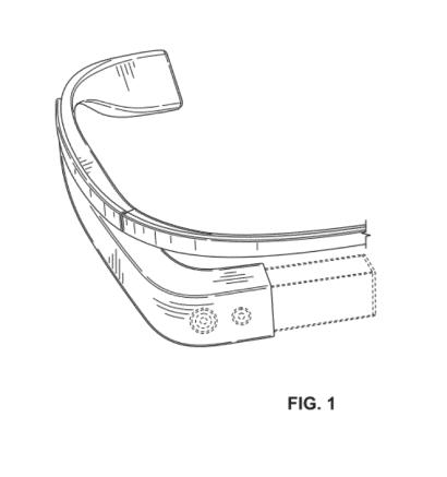 Another potential version of how Google Glasses might look.