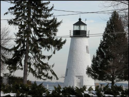 Concord Point Lighthouse, which sits at the mouth of the Susquehanna River in Havre de Grace.