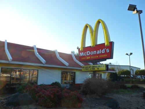 The local McDonalds in Warrenton, Virginia