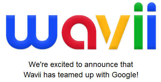 Part of the announcement on the wavii domain about the acquisition by Google.